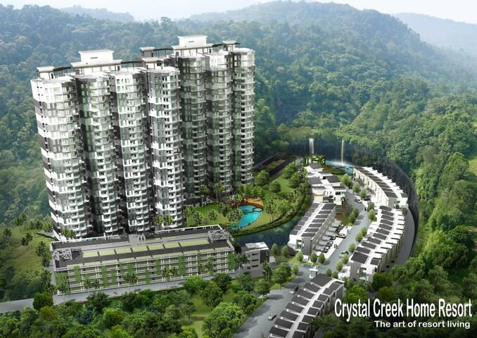 Crystal Creek Hillside Condominium in Taiping - Taiping - Apartament