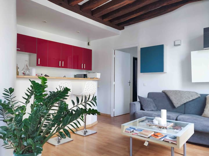 Cosy apartment in Le Marais, in the heart of Paris