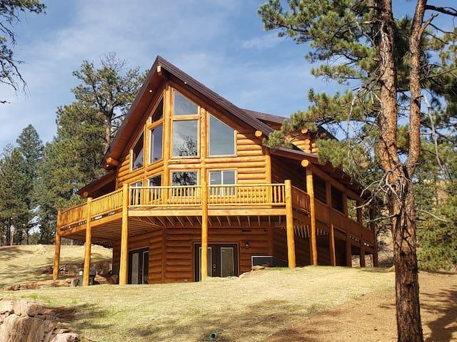 Just Built! Stunning 3-Story, 4 Bedroom Cabin