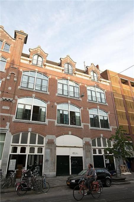 Our house was the first metal-concrete construction in Amsterdam!