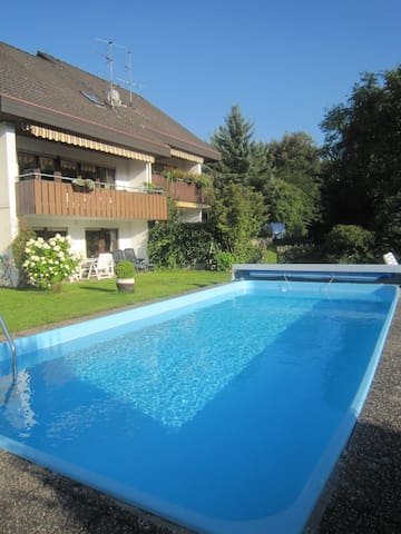Great Luxurious Apartment with Pool - Baden-Baden - Apartamento