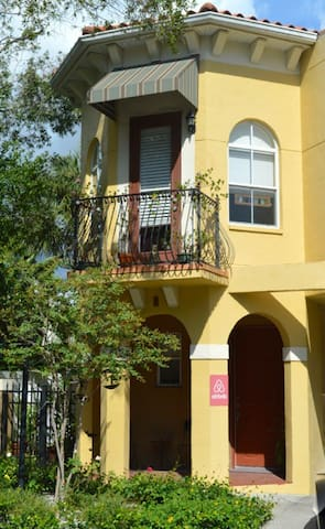 Cozy Townhouse in Hyde Park, Tampa - Tampa - Townhouse