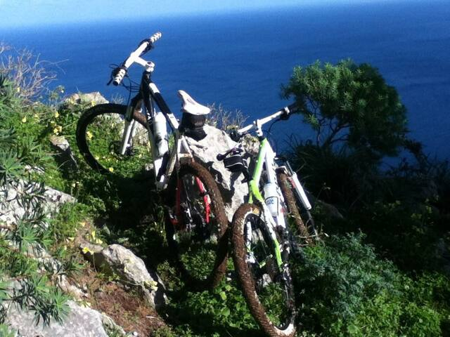 HOSTEL for MTB bikers in Sicily - Camporeale - Slaapzaal