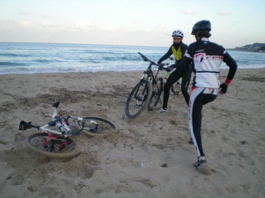 we are close to the beach - 8/10 km by MTB