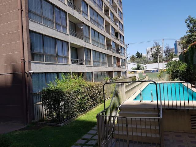 Apartamento Parque Estación (Metro USACH)