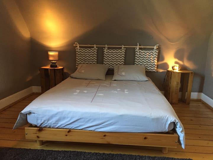 Charmantes chambres au calme à Colmar