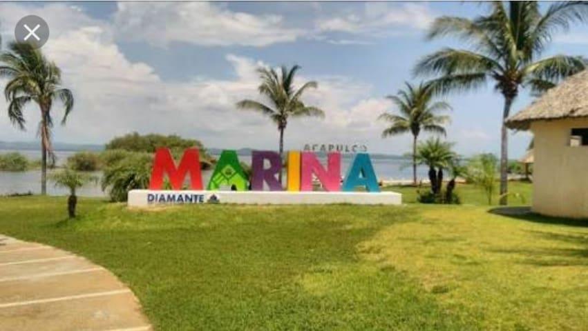 ACAPULCO DIAMANTE, Depto en Marina Diamante!!