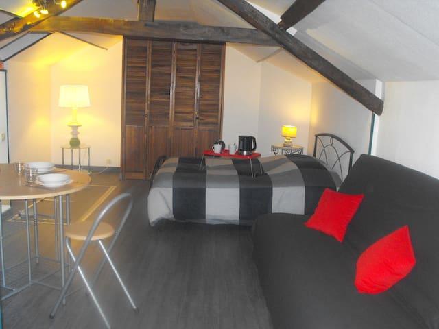 Studio au coeur des 7 vallées - Campagne-lès-hesdin - Apartamento