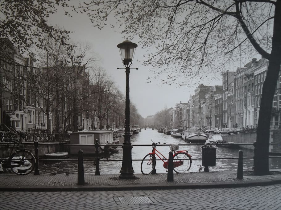 Poster of Amsterdam Canals, gorgeous piece of photography!