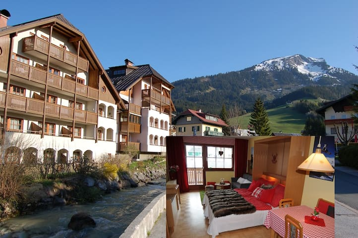 Apartment with pist view/Dachstein - Rußbach am Paß Gschütt - Huoneisto