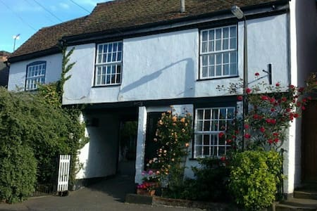 17th Century cottage overlooking River Stour