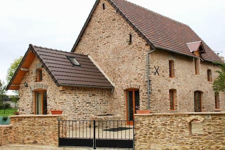 La Cidrerie, beau gîte de 5 chambres à coucher - Sainte Marguerite D'elle Le Bourg - Rumah