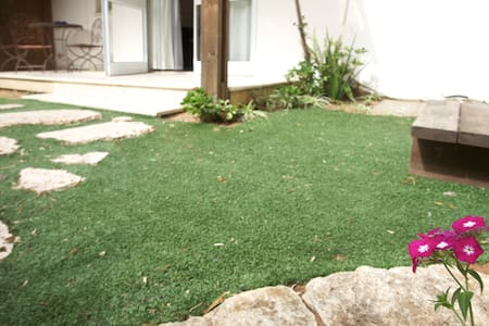 2 BED ROOMS WITH LOVELY YARD NEAR THE BEACH - Netanya - Appartement