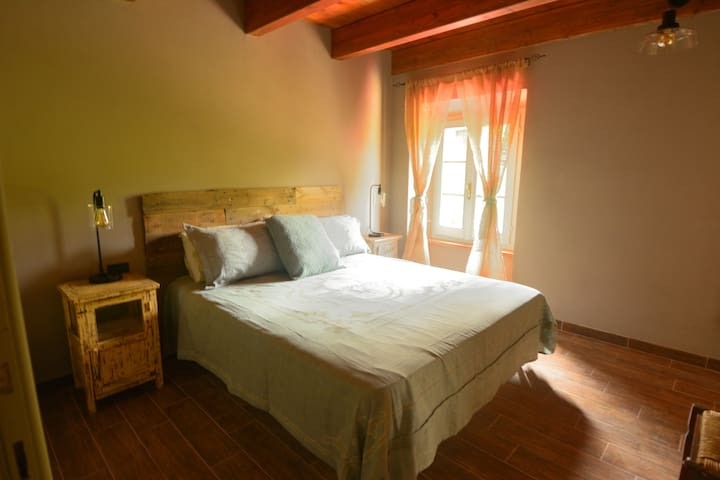 """The Artist""- all bedding is Belgian Linen"