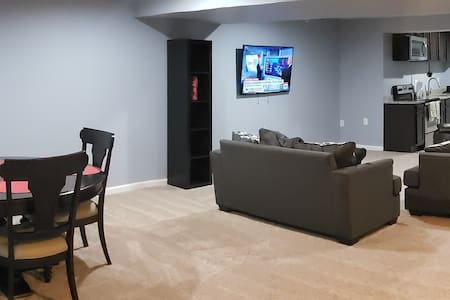 Private 2BedRooM Basement 10min from Washington DC