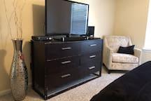 2nd Floor Master Suite TV Area
