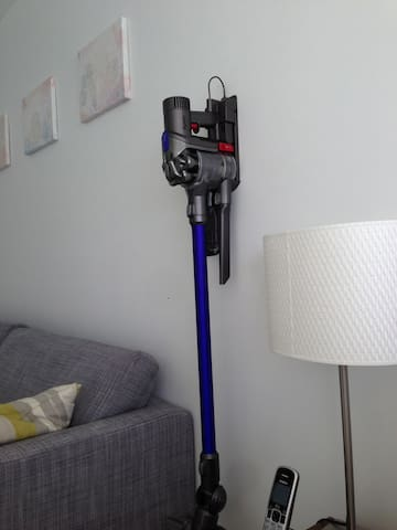 loved the Dyson vacuum, nerdy I know I used it five or six times , it came in handy with all the sand. - Jessica (August 2018)