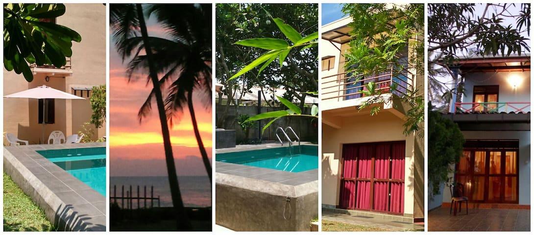 SriBeach Bungalows & Villa Marawila