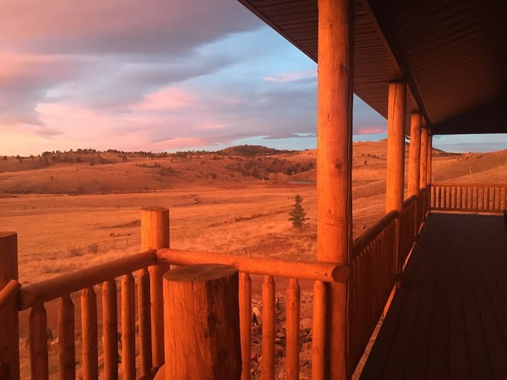 A ranch stay close to Cheyenne or Laramie.