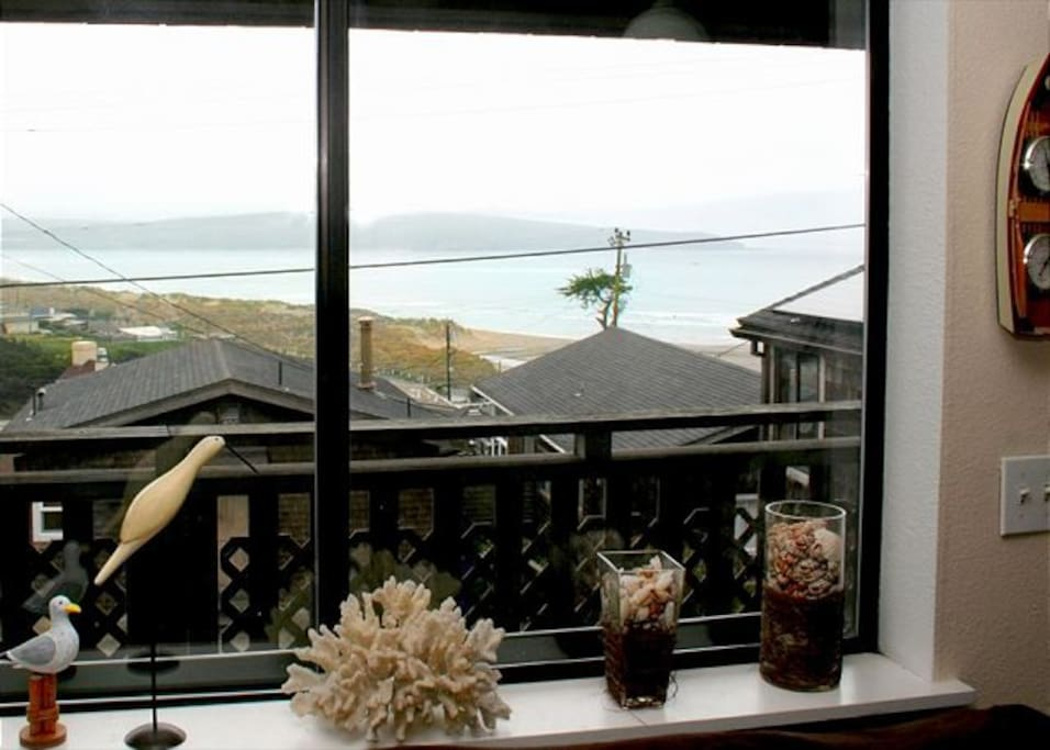 Beach and ocean views from the house!