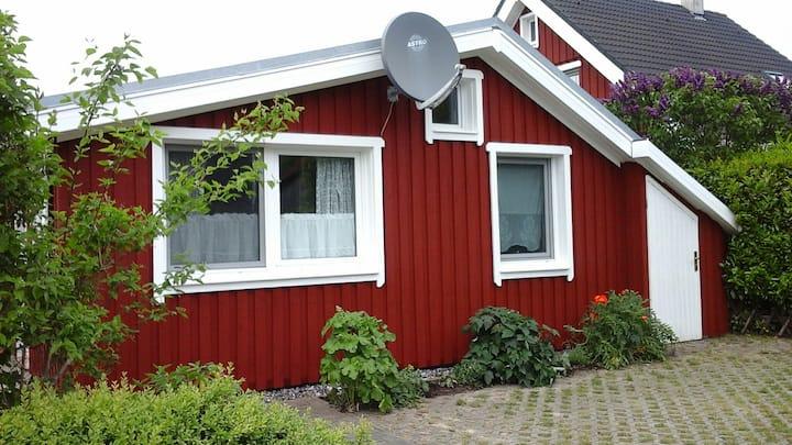 Urlaub in Glowe im kleinen Schwedenhäuschen
