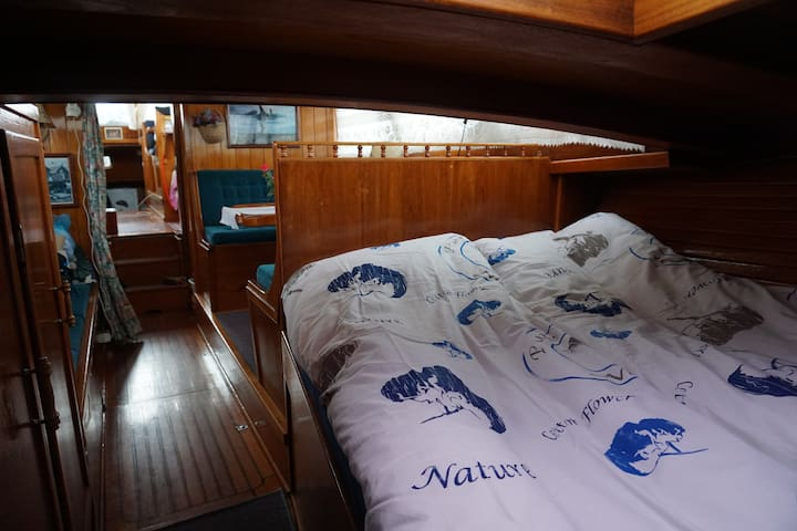 Båt Sara Carine - Halden - Hajó