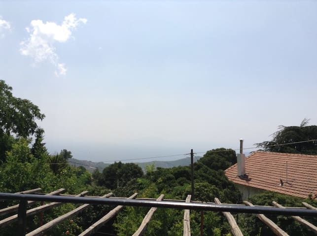 Studio in Pelion with view all Pagasitikos bay