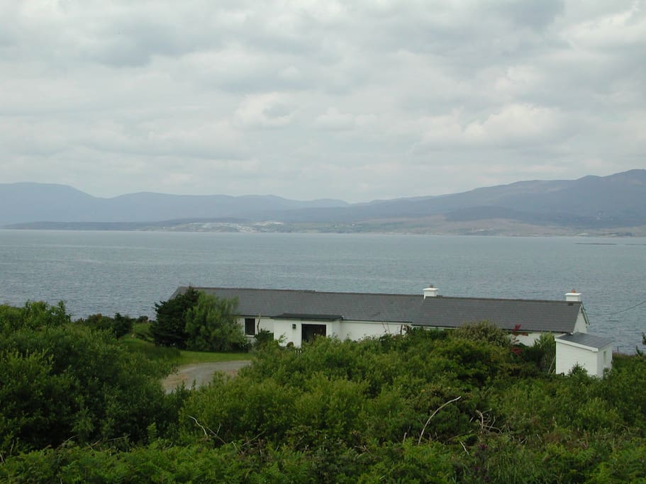 All rooms look onto Bantry Bay, with its ever-changing water and sky.