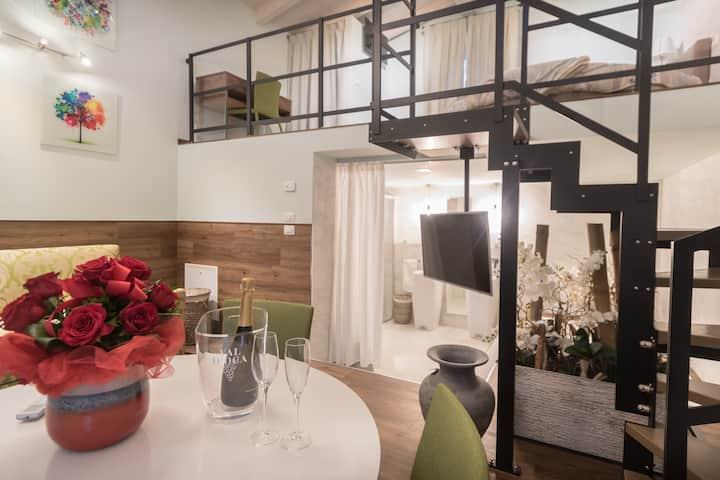 Appartamento con vasca idromassaggio ad Assisi