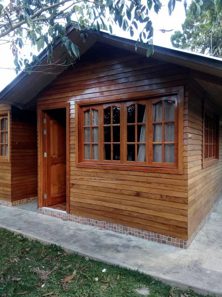 Cabaña para 2 personas oxapampa