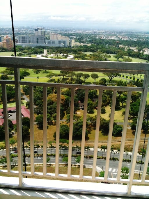 Your own balcony to appreciate the view of the lush greenery.