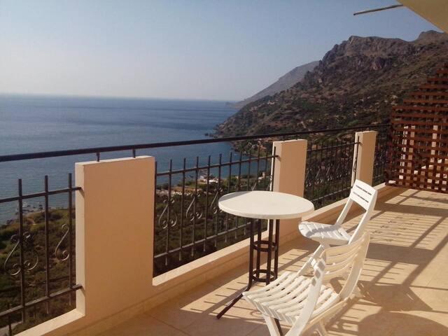 Studios with panoramic sea view