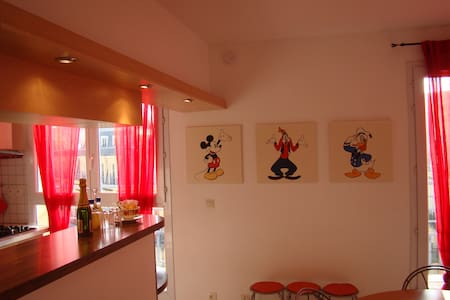 DISNEY BEAUTIFUL BALCONY APT 2 - Daire