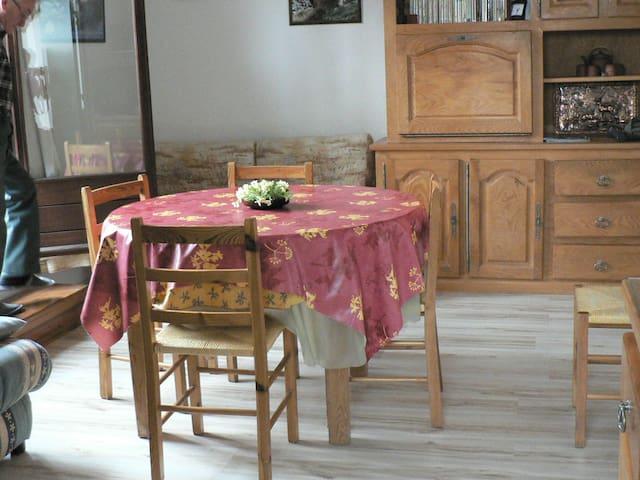Appart à la montagne - Saint-Léger-les-Mélèzes - Wohnung