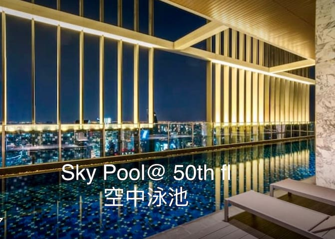 Luxury Condo Bangkok city center 曼谷市中心奢華大樓 中文服務 05