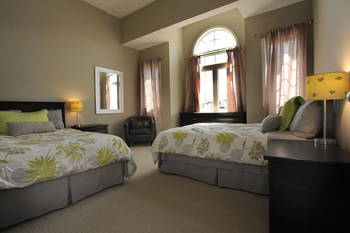 Bedrooms with private or semi-private bathroom