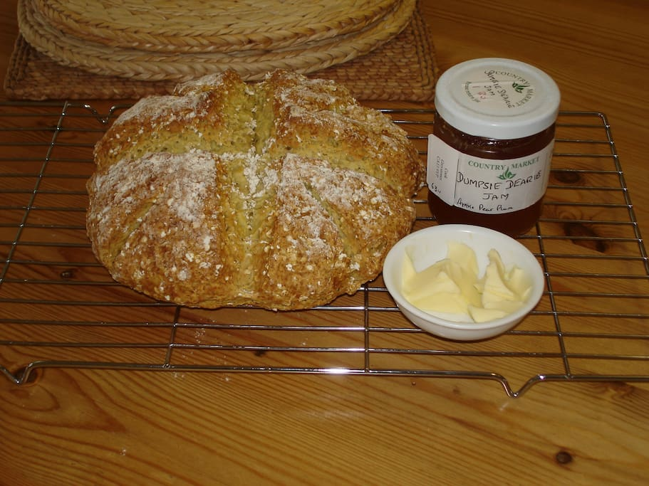 According to one of our Irish guests we make the best home-made soda bread outside of Sligo