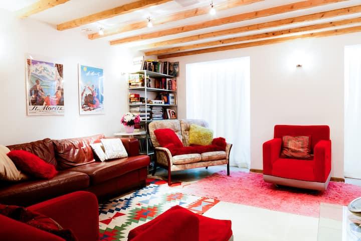 Lovely Front dble room Cheltenham Spa