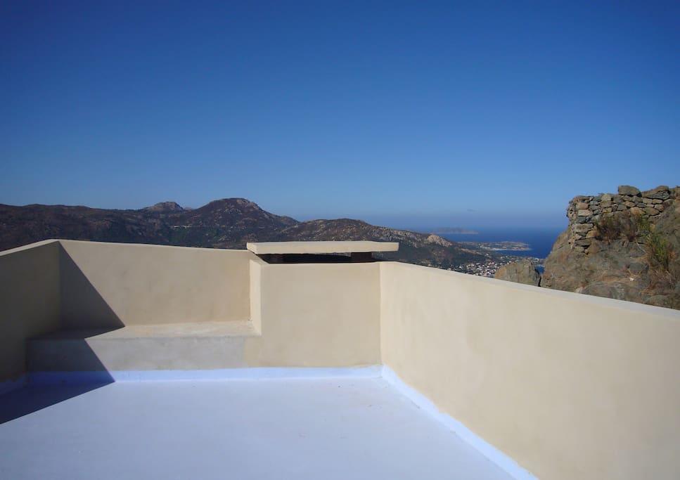 maison d'architecte vue mer-montagne-villages