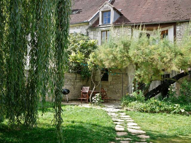 Charming  house in Burgundy 6p. - Junay - Dom