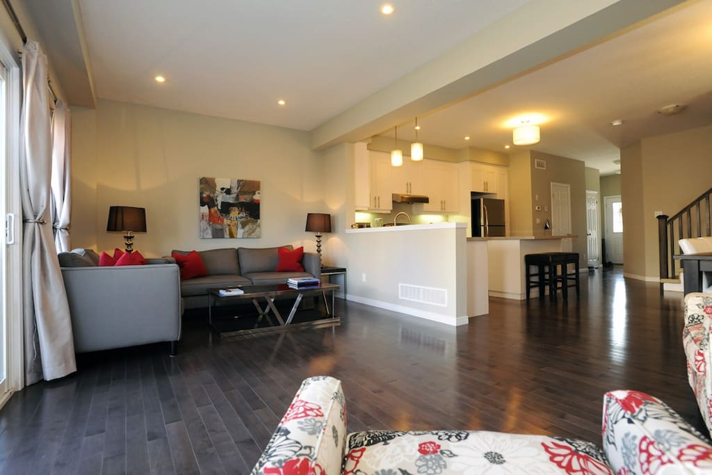 Professionally designed living rooms