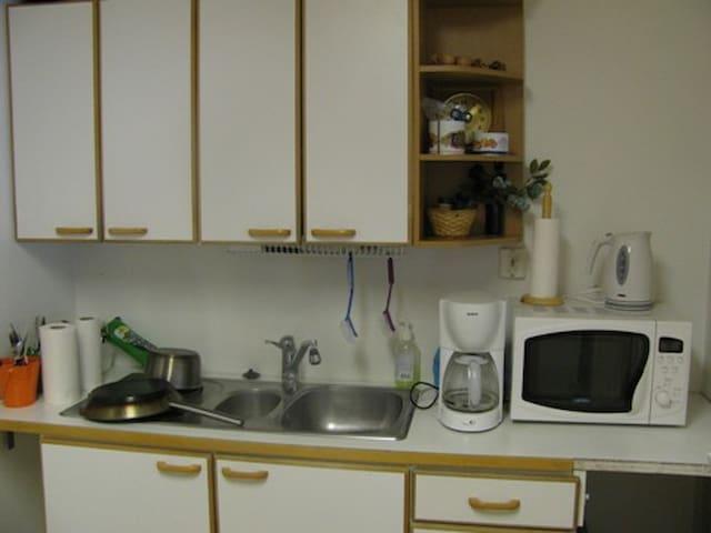 pieni keittiö