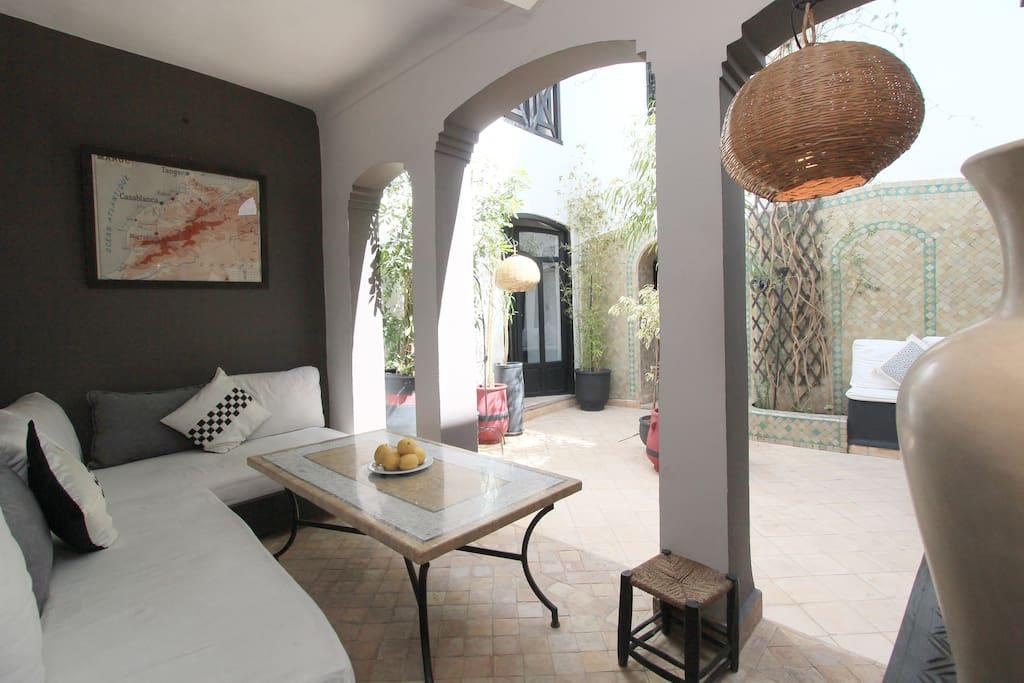 Cosy Riad in Marrakech (4 pax)