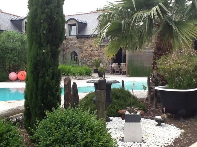Maison avec piscine Gīte du Vau Hervé St Brieuc - Langueux - Huis