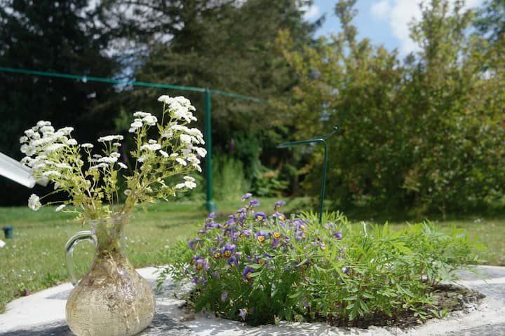 (3) Tolle Ferienhaus in der Natur & waldnah