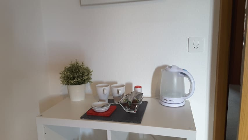 Double bedroom w/ private WC, 15 min. city center - Lausanne - Hus