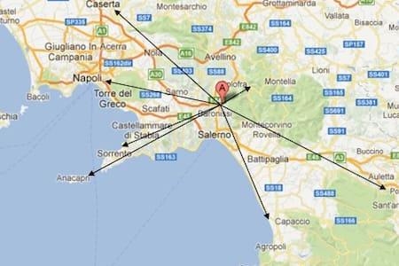 Appartamento-Salerno-mare e cultura - Fisciano - Appartement