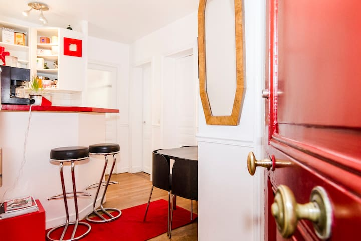 Charming 2-room apt. by Eiffel Tower, safe & quiet