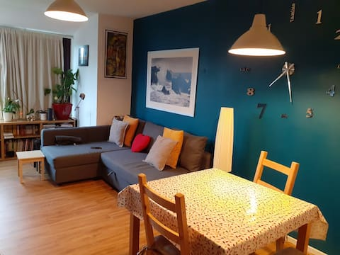 Central apartment in Leith