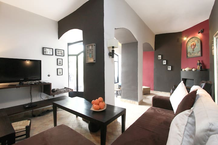 Cosy Riad in Marrakech (4 pax) - Marrakesh - House